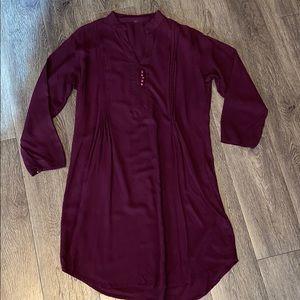 XS Pleated Tunic/dress